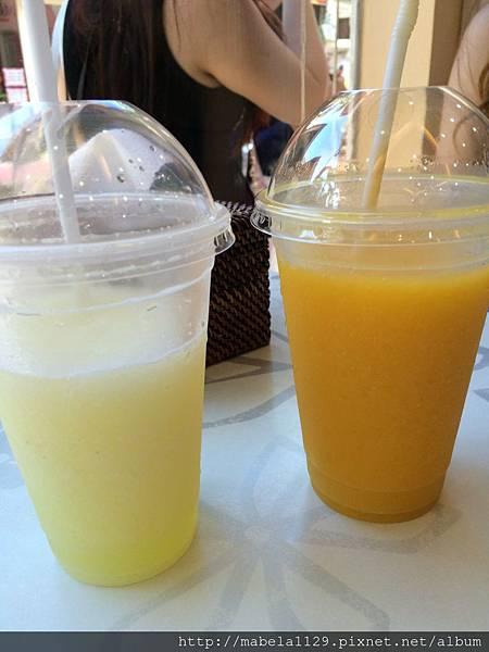 檸檬冰沙/芒果冰沙