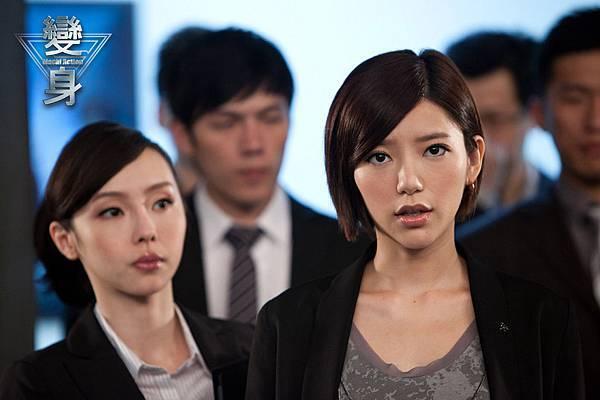 變身-郭雪芙飾演霸氣電視台董事長