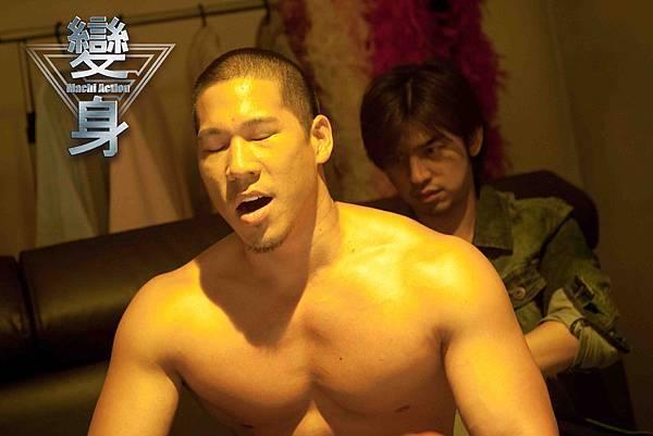 變身-林智文客串三級片男星 要陳柏霖幫他擦背