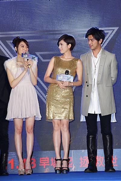 陳庭萱(左起)&郭雪芙&陳柏霖