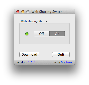 Web Sharing Switch