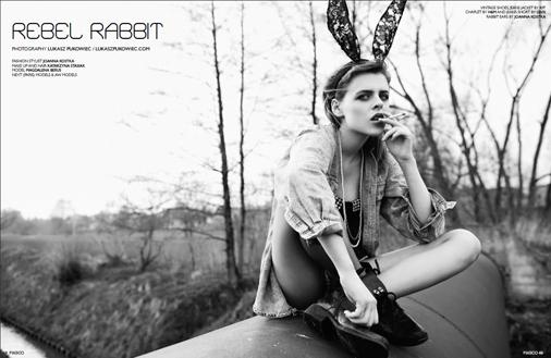 Rebel Rabbit by Lukasz Pukowiec 01.jpg