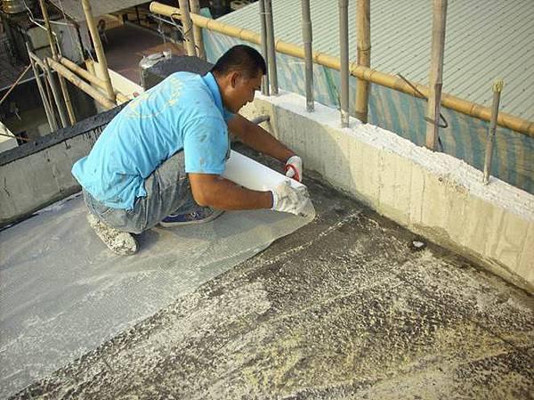 屋頂樓板防水施工