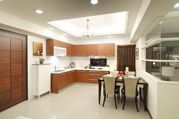 L型的廚房設計