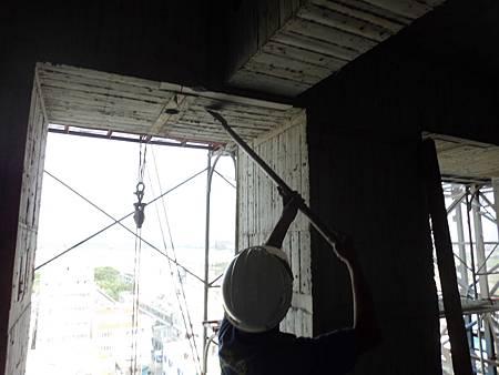 10/05 10F窗台防水素面處理