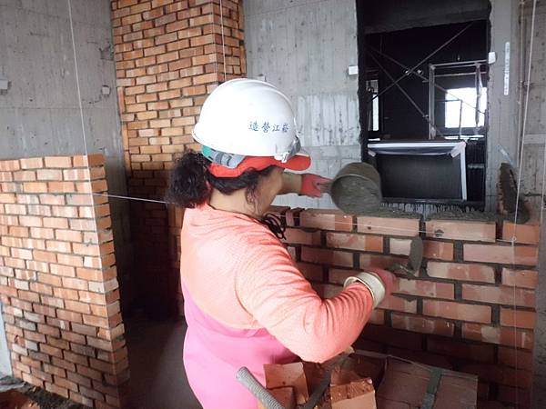 10-25 10F浴室隔間砌磚