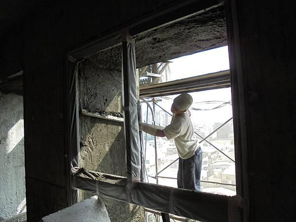 11/11 9FA2外牆打底