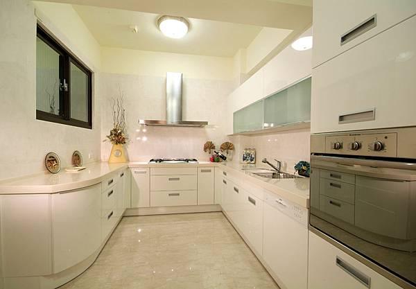 透天大廚房,廚房大空間,ㄇ字型