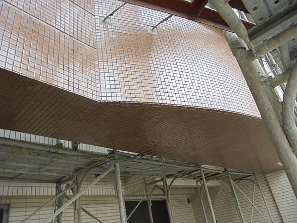 12-15 6F-3F外牆馬賽克黏貼