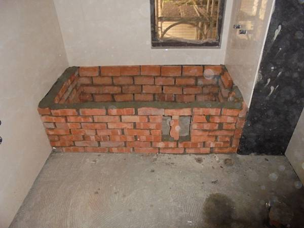 12-16 3F-6FA1.A2.浴缸牆砌磚