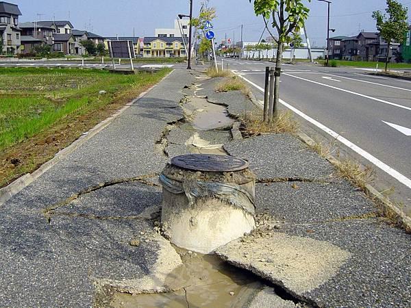 土壤液化,地震災害