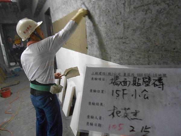 02-15 15F梯廳貼壁磚