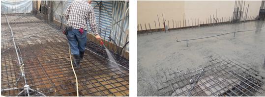 模板清洗,混凝土,工法
