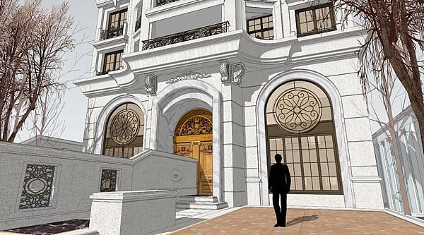 凡爾賽,新古典豪宅,上銘