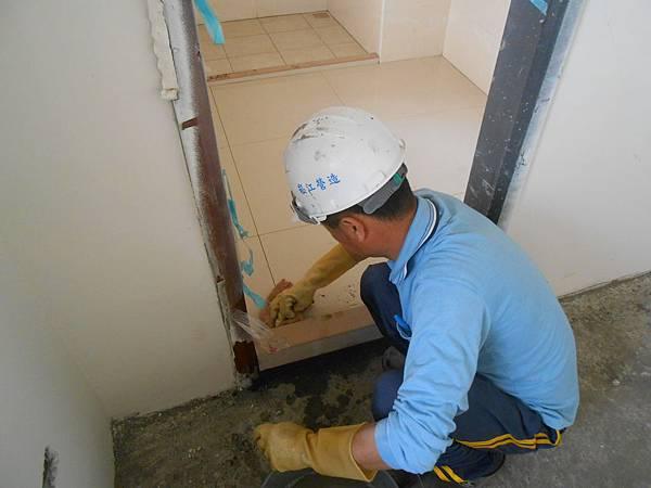 02-29 14F室內地磚施作
