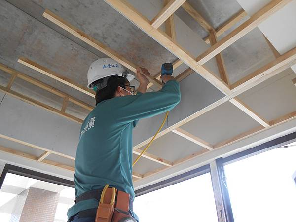 天花板,施工,建造