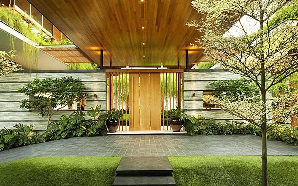 建築綠化,豪宅,生態建築