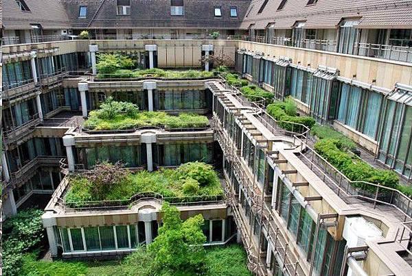 德國,綠建築,greenhouse,greenroof,斯圖加特
