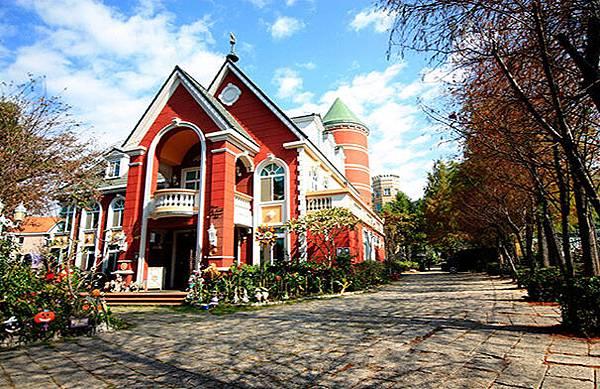 歐莉葉荷城堡,旅遊,歐風建築