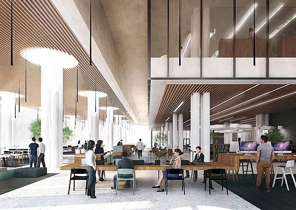 台南,圖書館,內部空間