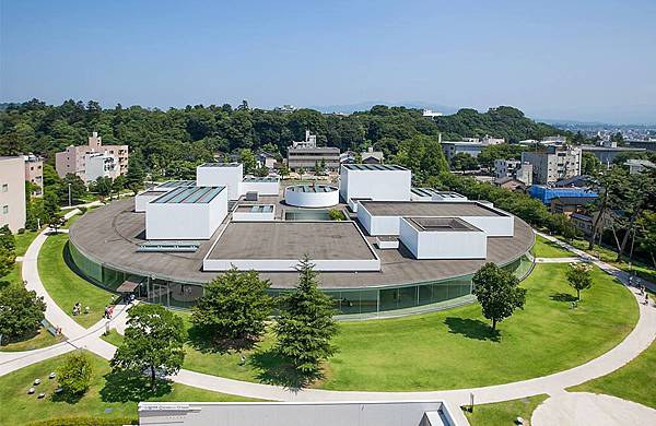 金澤美術館,妹島和世,清透建築
