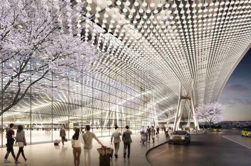 桃園機場,出國,智慧建築