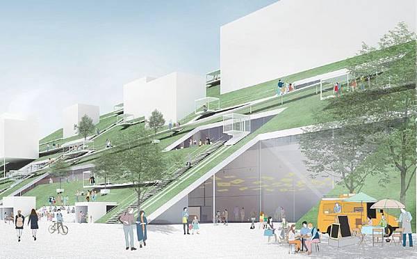 桃園,美術館,綠化