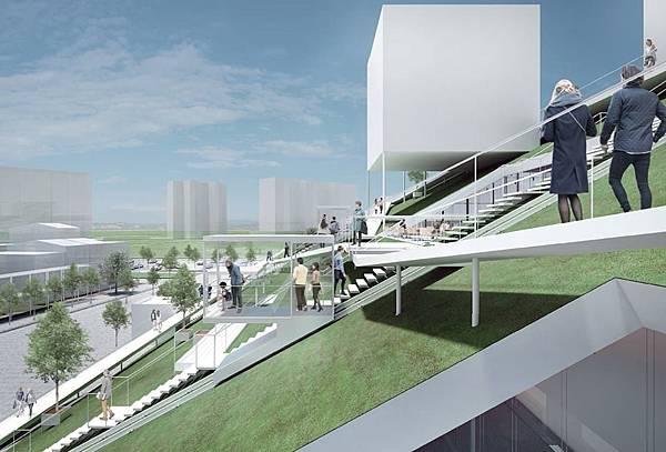 桃園,屋頂,斜坡式