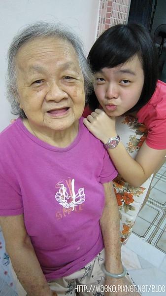 Grandma with lil sis .jpg