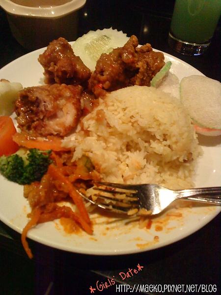 Satay sauce Friend Chicken Rice.jpg
