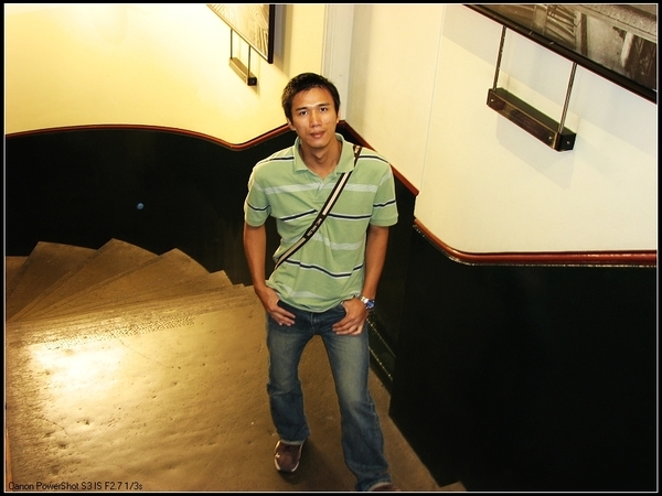 古典樓梯間....