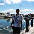 飯店旁的遊艇碼頭...