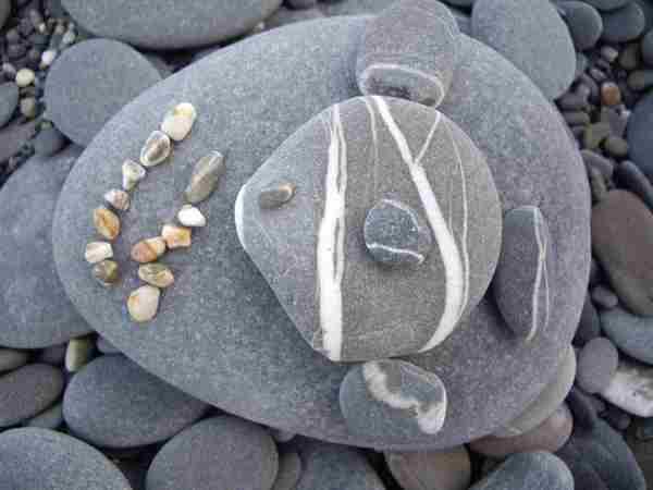 石頭作品-魚食記