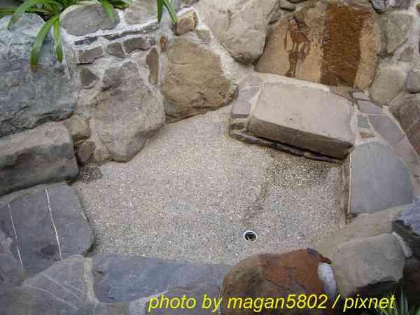 私人溫泉池.景1