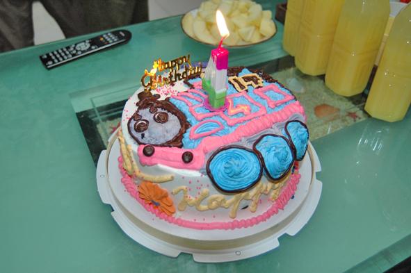 湯瑪士火車生日蛋糕