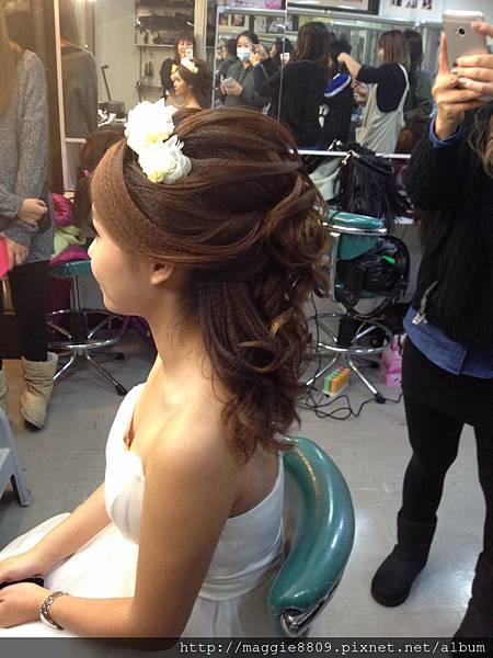 新娘浪漫髮型