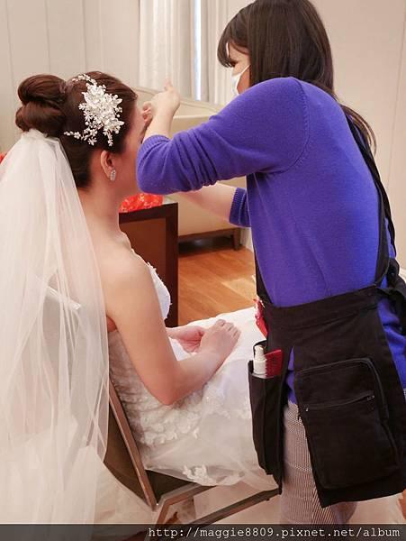 台北新秘君悅酒店訂結儀式新娘秘書造型
