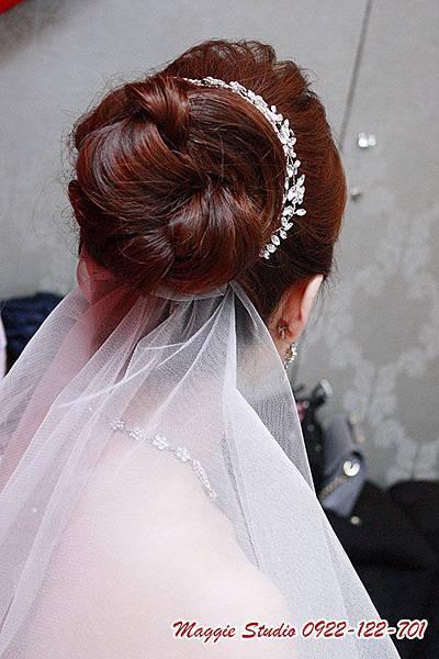基隆新秘綠茵@基隆水園飯店 筱雯~Grace Wedding葛芮絲婚禮。新娘秘書。韓風新娘。編髮鮮花造型