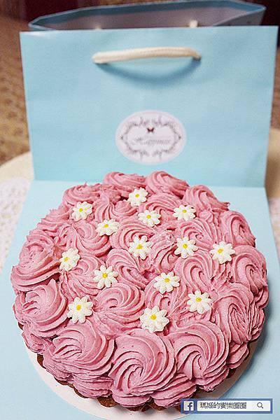 喬伊絲手作甜品工作室 花漾覆盆莓派塔.jpg