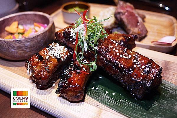 【Asia49亞洲料理及酒廊】戶外高空花園景觀餐廳。新板特區景觀餐廳。星馬料理。南洋料理。日韓料理。捷運板橋站美食