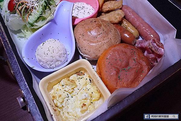 台北東區【TankQ松菸店】主題餐廳。行李箱早午餐。松菸/早午餐/美式餐廳。捷運市政府站美食