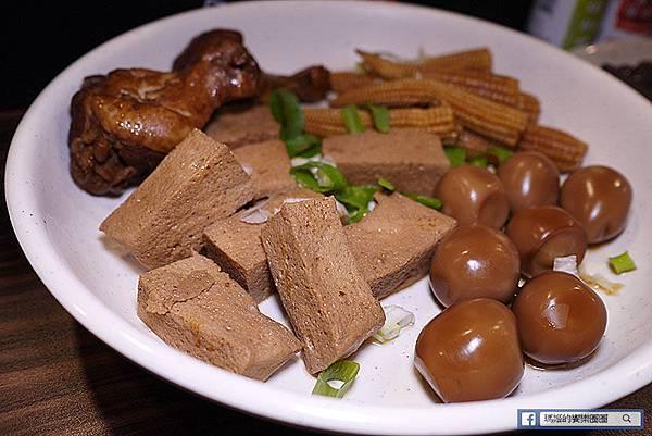 【中庸之道-滷食本鋪】冷熱皆宜即時滷味。林森北路滷味