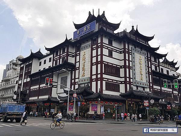 ◆上海自由行【豫園-上海城隍廟】古色古香的街道巡禮。南翔饅頭店蟹黃灌湯包