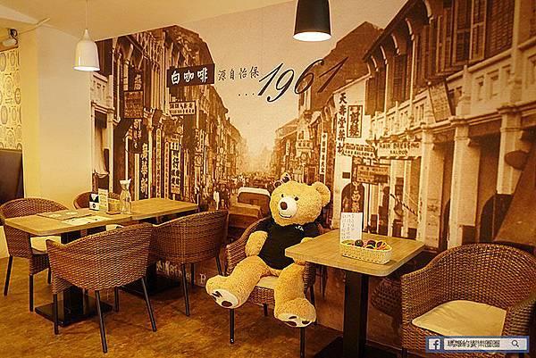 ◆台北士林【MB white coffee士林店】大推!士林必吃南洋風咖啡館。士林星馬料理。士林南洋料理