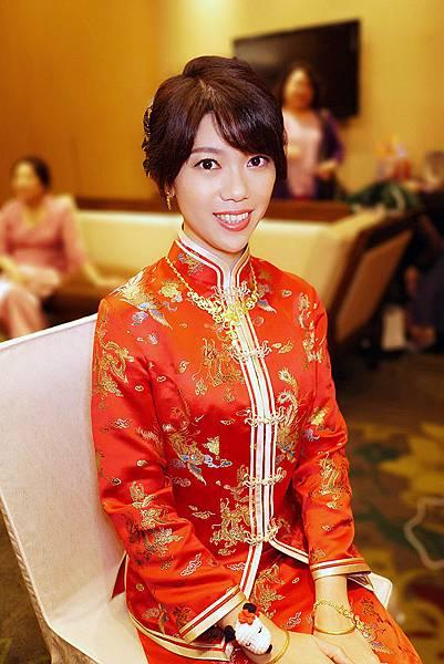 台北新秘綠茵@北投麗禧酒店 推薦文48 BIBI 新娘秘書