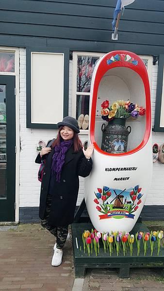 春遊荷比盧【荷蘭馬肯綠村&北海漁村】舊日荷蘭漁村風情畫