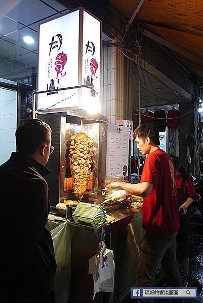 基隆美食【月見山沙威瑪基隆七堵店】基隆沙威瑪推薦。基隆七堵夜市小吃。好吃的中東傳統美食