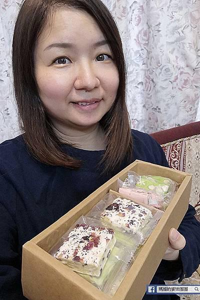 【麗華餅店】麗華雪花餅〡麗華牛軋糖〡雪花餅推薦〡台北雪花餅〡海藻糖