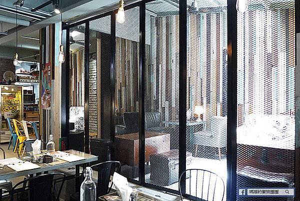 大安美式餐廳【黑熊愛跳舞】美翻藍色海洋傳說全系列料理/六張犂美式餐廳/餐酒館