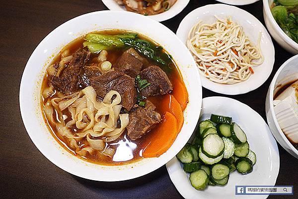 【小美好牛肉麵】東門牛肉麵推薦!好吃的半筋半肉紅燒牛肉麵~牛肉蔬菜鮮味湯頭不加味精健康好味道!